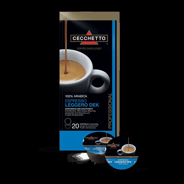 Espresso Leggero DEK